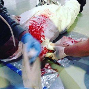 First Aid Practical =Scenario