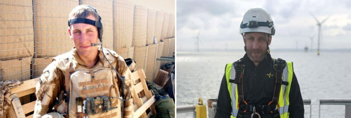 Royal Marine to Wind Turbine Technician at OPS